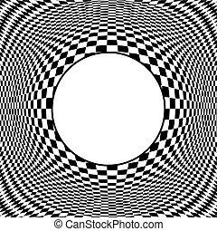 Diseño de arte con marco