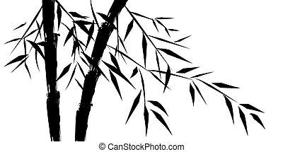 Diseño de bambús chinos