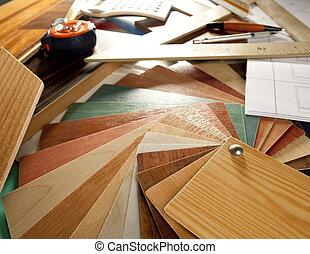 Diseño de carpinteros de diseño de interiores arquitecto