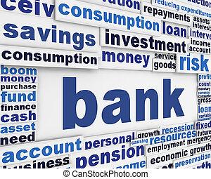 Diseño de carteles bancarios