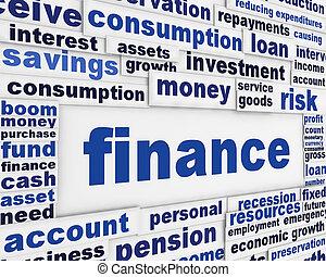 Diseño de carteles financieros