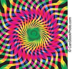 Diseño de colores abstracto