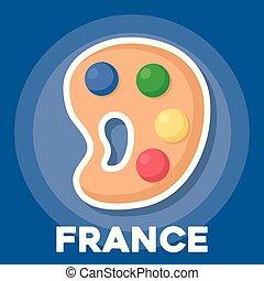 Diseño de cultura francesa