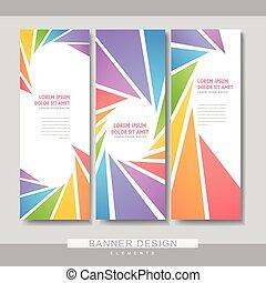 Diseño de diseño de plantilla de colorido