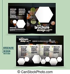 Diseño de diseño de plantilla de folletos