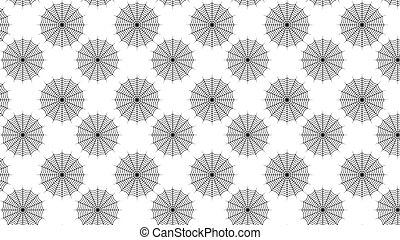 Diseño de diseño de telarañas sin costura aislado en el fondo blanco