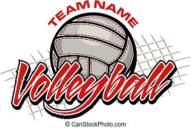 Diseño de equipo de voleibol