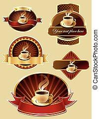 Diseño de etiqueta de café