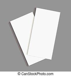 Diseño de folletos.