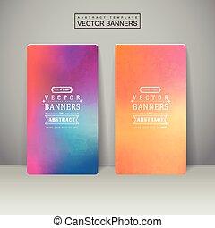 Diseño de fondo suave y colorido para pancartas