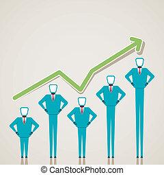 Diseño de gráficos de negocios con negocios