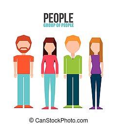 Diseño de grupos de personas