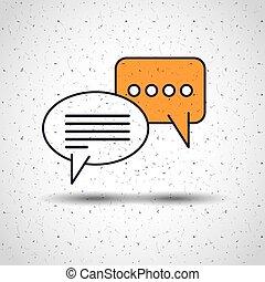 Diseño de iconos de línea plana