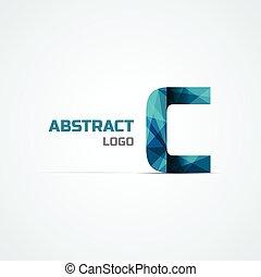 Diseño de iconos de letras C