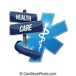 Diseño de ilustración de símbolos de salud