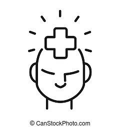 Diseño de ilustración de salud mental