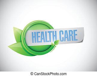 Diseño de ilustración de signos de salud
