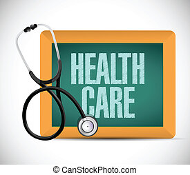Diseño de ilustración de signos médicos de salud