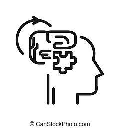 Diseño de ilustración lógica