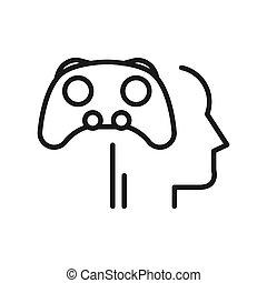 Diseño de ilustraciones de juegos mentales