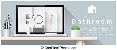 Diseño de interiores moderno de diseño interior 1