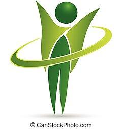Diseño de logotipo web saludable