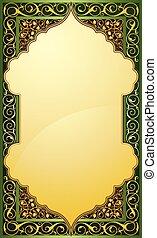 Diseño de marcos de Oriente Medio