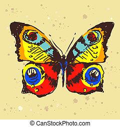 Diseño de mariposas