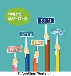 Diseño de marketing en línea