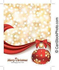 Diseño de Navidad elegante
