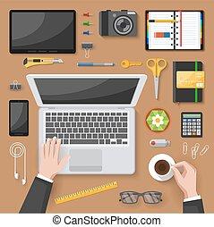 Diseño de oficina de primera vista