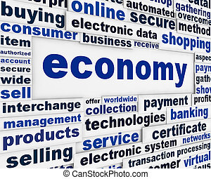 Diseño de pósters de economía