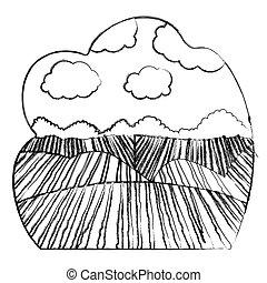 Diseño de paisajes de agricultura