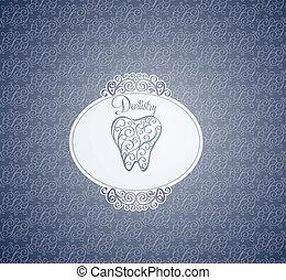 Diseño de papel tapiz dental