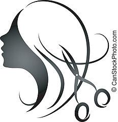 Diseño de peluquería para mujeres