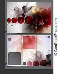 Diseño de plantilla Brochure.