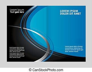 Diseño de plantilla de folletos