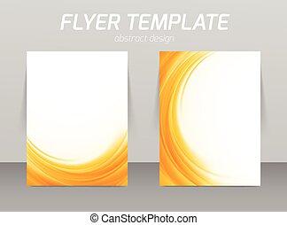 Diseño de plantilla de piloto abstracto