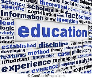 Diseño de posters de educación