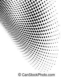 Diseño de puntos negros modernos