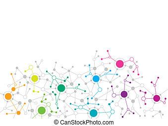 Diseño de red abstracto