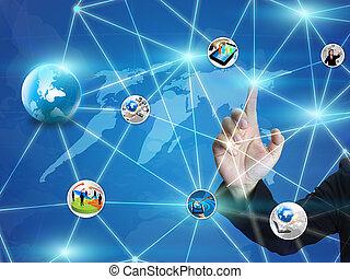 Diseño de red de negocios