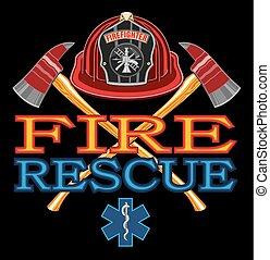 Diseño de rescate de incendios