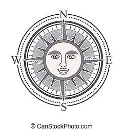 Diseño de rosas Compass