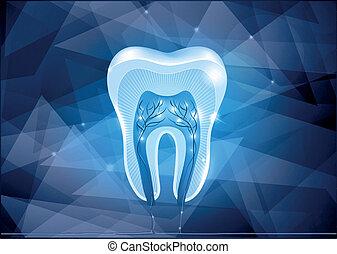 Diseño de sección de dientes cruzados