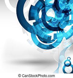Diseño de tecnología abstracto