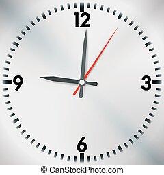 Diseño de tiempo, ilustración vectorial.