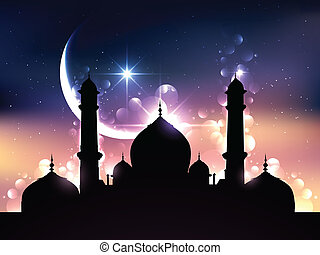 Diseño de vector Ramadan