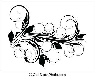 Diseño de vector Swirl