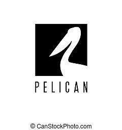 Diseño de vectores pelícanos